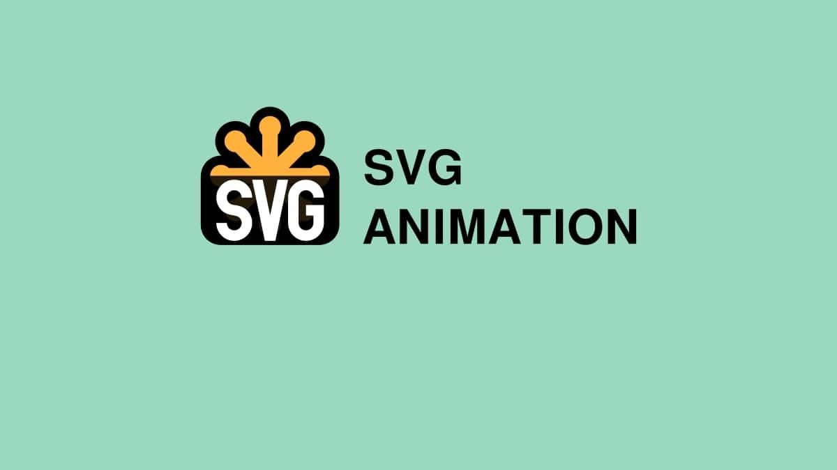انیمیشن SVG در صفحات وب